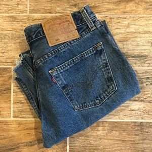 Levi's | 501 High Rise Made in USA Vintage Jeans